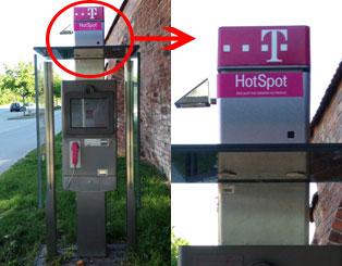 WLAN HotSpot der Telekom