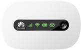 Huawei E5220 Mobiler Wifi WLAN-Router (deutsche Version, bis zu 10 WLAN-Zugänge, 5s Boot-Zeit, HSPA+) weiß - 1
