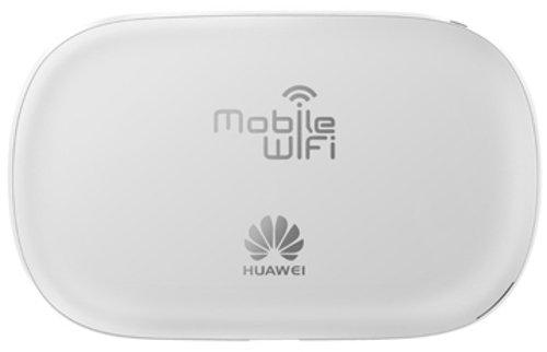 Huawei E5220 Mobiler Wifi WLAN-Router (deutsche Version, bis zu 10 WLAN-Zugänge, 5s Boot-Zeit, HSPA+) weiß - 2