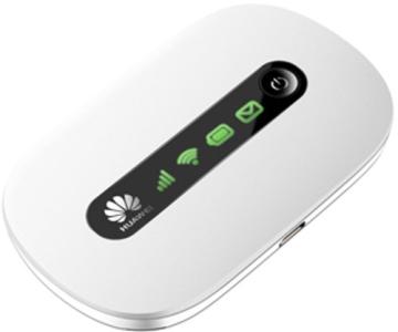Huawei E5220 Mobiler Wifi WLAN-Router (deutsche Version, bis zu 10 WLAN-Zugänge, 5s Boot-Zeit, HSPA+) weiß - 4