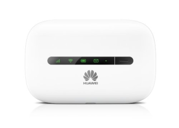 Huawei E5330 3G Mobile WiFi Hotspot Router (21,6 Mbit/s, HSPA+, 900/2100 MHz) weiß - 1