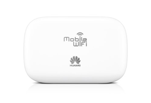 Huawei E5330 3G Mobile WiFi Hotspot Router (21,6 Mbit/s, HSPA+, 900/2100 MHz) weiß - 3
