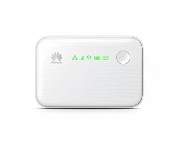 Huawei E5730 WiFi-Hotspot (WLAN, 42 MBit/s, HSUPA, USB, LAN) weiß - 1