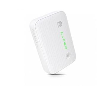 Huawei E5730 WiFi-Hotspot (WLAN, 42 MBit/s, HSUPA, USB, LAN) weiß - 3