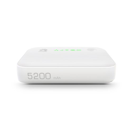 Huawei E5730 WiFi-Hotspot (WLAN, 42 MBit/s, HSUPA, USB, LAN) weiß - 5