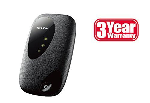 TP-Link M5250 Mobiler MIFI WLAN-Router (WiFi Hotspot, 2000mAh interne Akku, SIM-Kartensteckplatz, microSD-Kartenslot, HSPA+, 3G) - 5