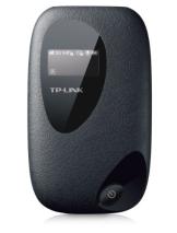 TP-Link M5350 Mobiler MIFI WLAN-Router (Mobiler WiFi Hotspot, integriertes 3G/UMTS-Modem mit bis zu 21,6 Mbit/s, Wireless-N-Standard (IEEE 802.11n), SIM-Kartensteckplatz, OLED-Display, microSD-Kartenslot, HSPA+ 3G) schwarz - 1