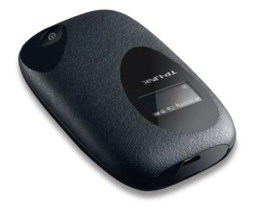 TP-Link M5350 Mobiler MIFI WLAN-Router (Mobiler WiFi Hotspot, integriertes 3G/UMTS-Modem mit bis zu 21,6 Mbit/s, Wireless-N-Standard (IEEE 802.11n), SIM-Kartensteckplatz, OLED-Display, microSD-Kartenslot, HSPA+ 3G) schwarz - 2