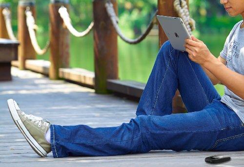 TP-Link M5350 Mobiler MIFI WLAN-Router (Mobiler WiFi Hotspot, integriertes 3G/UMTS-Modem mit bis zu 21,6 Mbit/s, Wireless-N-Standard (IEEE 802.11n), SIM-Kartensteckplatz, OLED-Display, microSD-Kartenslot, HSPA+ 3G) schwarz - 9
