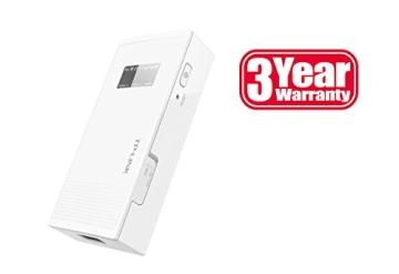 TP-Link M5360 Mobiler MIFI WLAN-Router mit Power Bank (WiFi Hotspot, 5200mAh interne Akku, SIM-Kartensteckplatz, OLED-Display, microSD-Kartenslot, HSPA+, 3G) - 3