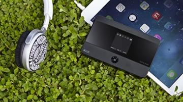 TP-Link M7350 mobiler 4G/LTE MiFi Dualband-WLAN-Router (LTE Cat.4 150Mbit/s, 2550mAh interner Akku, OLED-Display, SIM-Kartensteckplatz, microSD-Kartenslot) - 5
